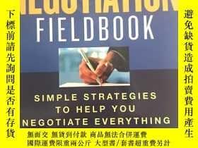 二手書博民逛書店The罕見Negotiation FieldbookY27755
