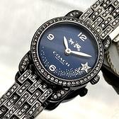 星晴錶業-COACH蔻馳女錶,編號CH00004,24mm銀錶殼,銀色錶帶款