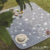 野餐墊 戶外春游防潮墊野炊地墊防水草坪墊子加厚可水洗便攜野餐布  野外之家
