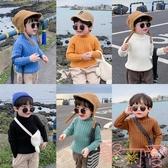 童裝男童毛衣套頭兒童半高領針織衫寶寶加厚【聚可愛】