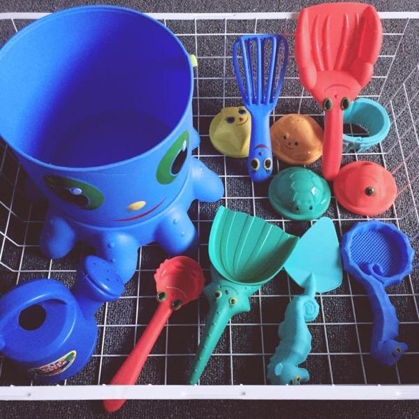 嬰幼兒沙灘益智14件套兒童戲水玩具