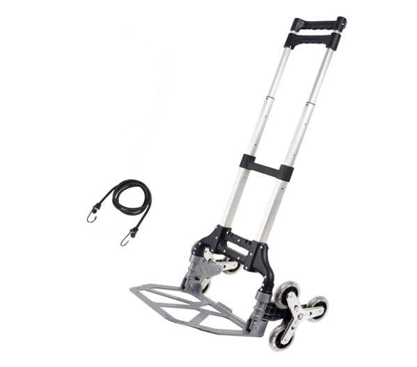 折疊爬梯手推車 Folding Climbing Stair Cart,Hand Truck Portable,Trolley 6 Crystal Wheel Lightweight