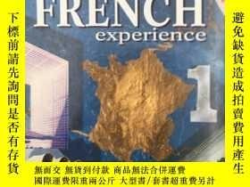 二手書博民逛書店FRENCH罕見EXPERIENCE 1 COURSEBOOK