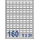 Unistar 裕德3合1電腦標籤紙 (27)US0256 160格 (100張/盒)