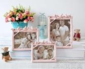 個性創意歐美式樹脂白色5寸6寸7寸8寸婚紗照相框擺臺洗照片加相框 簡而美
