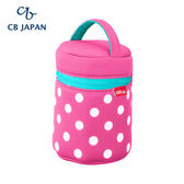 CB Japan 水玉點點系列可洗可拆保冷手提湯袋 (1入)-玫瑰粉