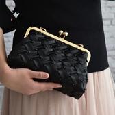 布藝diy 黑蘿莉高檔釘珠親子包閨蜜包禮服包口金包材料包 - 歐美韓熱銷