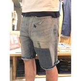 牛仔短褲 男裝 / 502™ 中腰錐形褲 - Levis