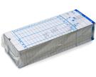 考勤卡 x3包(300入) 四欄 63x163 底圓孔 打卡鐘 出勤卡 卡片 台灣製造 ~非象球牌   萬年牌 愛德 加新