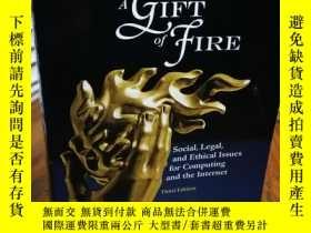 二手書博民逛書店A罕見Gift of Fire: Social, Legal,