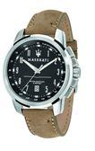 【Maserati 瑪莎拉蒂】/數字皮帶錶(男錶 女錶)/R8851121004/台灣總代理原廠公司貨兩年保固