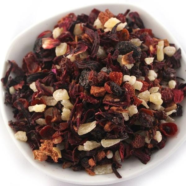 草莓水果茶 草莓風味果粒茶 水果茶 果粒果乾茶 300克 另有藍莓、黑森林、蘋果 【正心堂】