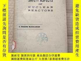 二手書博民逛書店safety罕見aspects of nuclear reactors(P534)Y173412