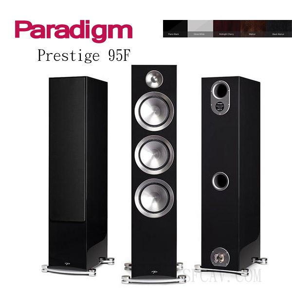 【竹北勝豐群音響】預購Paradigm Prestige 95F 落地喇叭  PB / M-CH / GW
