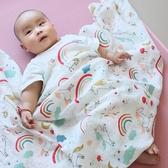 純棉紗布小薄被子新生嬰兒童寶寶毛巾被夏涼被蓋被蓋毯 薄款