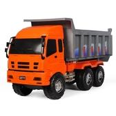大號工程車模型大貨車卡車大型運輸車運沙小孩子兒童汽車玩具男孩