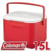 【Coleman 美國 15L EXCURSION 美利紅冰箱】 CM-27860/行動冰箱/冰桶/露營冰箱/保冷箱★滿額送