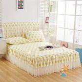 85折免運-床罩蕾絲花邊床裙2.0m1.8M單件床套1.5米席夢思床罩防滑夏季1.2床頭罩