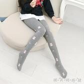 夏加厚兒童襪子純棉針織女童連褲襪白色打底褲嬰兒連體襪 雙十二全館免運