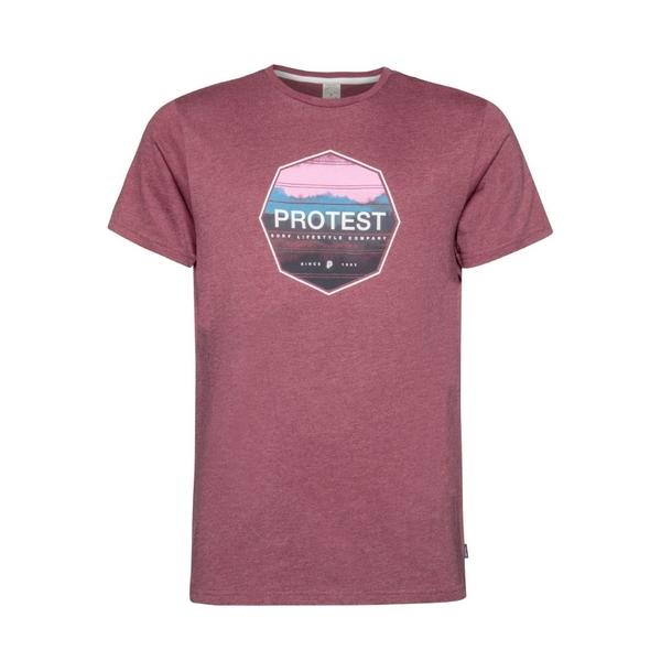 PROTEST 男 短袖T恤 (黑櫻桃) RAG T-SHIRT