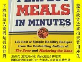 二手書博民逛書店ZONE罕見PERFECT MEALS IN MINUTES(在
