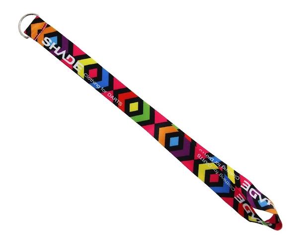 【SHADE】Neck strap DartsCase StrapParts Rainbow 鏢盒/鏢袋 DARTS