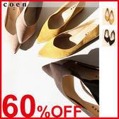 女鞋 尖頭低跟鞋 平底鞋 日本品牌【coen】