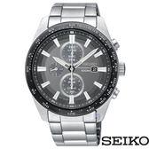 SEIKO 精工 SSC651P1 (V176-0AV0G) 太陽能 三眼計時 男錶