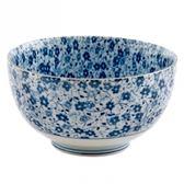 藍染小花 5吋麵碗 13cm S3-14
