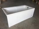 【麗室衛浴】國產 壓克力造形浴缸 LS-307 160*80*外H55CM 含固定式前、側牆各一面