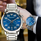 美國代購 Emporio Armani 復刻計時手錶 AR11132