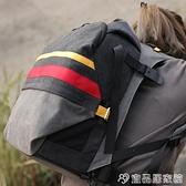 攝影包 佳能尼康相機包單反多功能戶外雙肩專業攝影包時尚帆布索尼背包 宜品居家