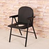 加厚可折疊老人坐便椅座便器移動馬桶孕婦坐便椅子座廁椅病人便凳
