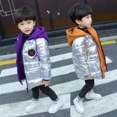 【新年鉅惠】男童棉衣外套2018冬季新款兒童中長款棉服寶寶加厚羽絨棉襖韓版潮