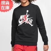【現貨】Nike Jordan Jumpman 男裝 長袖 大學T 黑【運動世界】BV6007-010