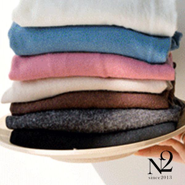 上衣 素色素面棉T(灰黑)  N2