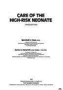 二手書博民逛書店 《Care of the High-risk Neonate》 R2Y ISBN:0721618367│Saunders