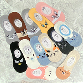 【花想容】11款 貓奴 貓咪日常 熊貓 貓貓 矽膠防滑隱形襪 船型襪 韓國襪子