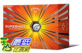 [COSCO代購] Callaway SuperHot 三層高爾夫球48入(3入 x 16盒) _W994698
