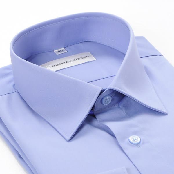 ROBERTA DI CAMERINO 諾貝達長袖襯衫-藍