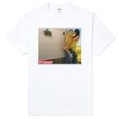 【Dirty Sweet】Car Back Man & Girl 短袖T恤-白色 相片 LOMO 圖案設計潮流