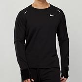 Nike AS M NK Sphr Elmnt Crw 3.0 男款 黑 訓練 慢跑 運動 長袖 CU6084-010