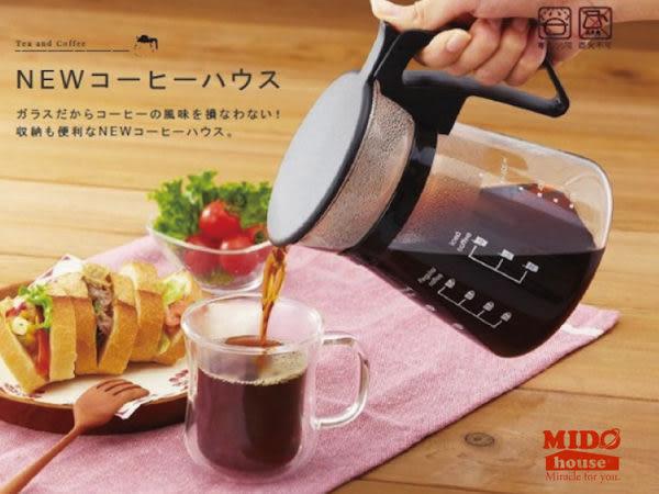日本iwaki 玻璃咖啡壺 600ml K8685《Midohouse》