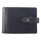 BURBERRY隨身零錢袋穿式手帳冊(深藍色)086038-3
