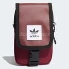adidas 側背包 Originals Map Bag 男女款 輕便 小包包 手機包 隨身包 三葉草 紅 【PUMP306】 DV2483