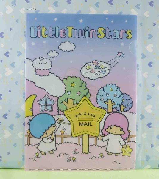 【震撼精品百貨】Little Twin Stars KiKi&LaLa 雙子星小天使~資料夾-郵筒