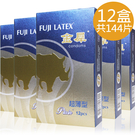 超值組合12盒* 12片(共144片) 夫力士 金犀衛生套 保險套/平面/超薄【套套先生】