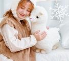 玩偶 小羊駝公仔毛絨玩具娃娃玩偶生日禮物女孩可愛的床上睡覺抱枕兒童【快速出貨八折下殺】