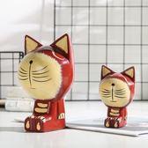 創意個性家居可愛迷你小貓客廳臥室生日禮物動物裝飾品桌面小擺件【限時特惠九折起下殺】
