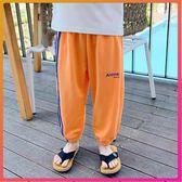 防蚊褲 男童防蚊褲薄款夏季新款年新款休閒褲中童夏裝褲子冰絲兒童運動褲